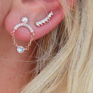 Chloe + Isabel Petits Bijoux Ear Climbers